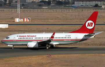 5Y-KQF - Kenya Airways Boeing 737-700