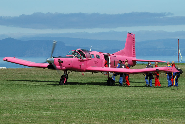 Private ZK-SDT aircraft at Taupo