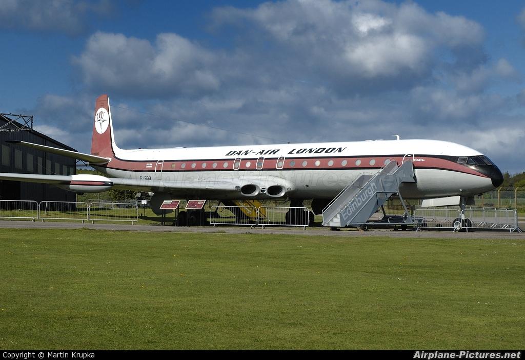 Dan Air London G-BDIX aircraft at East Fortune