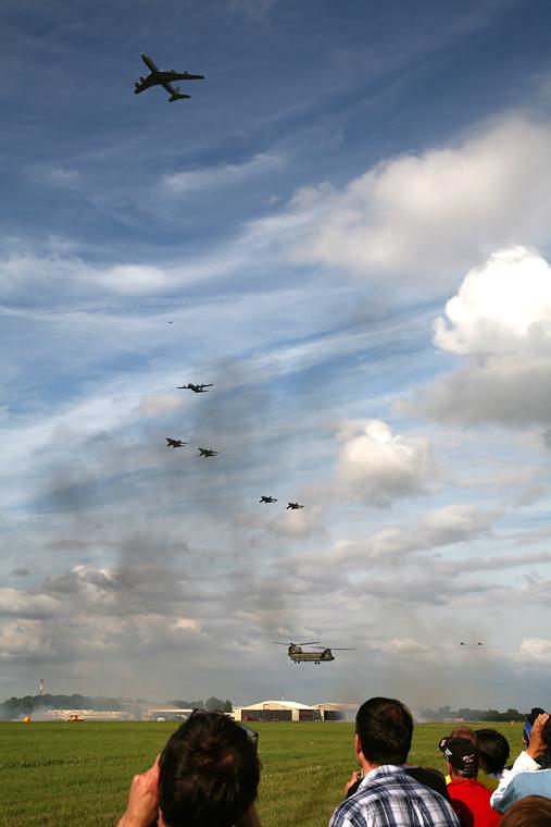 Royal Air Force - aircraft at Fairford