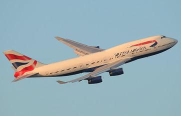 - - British Airways Boeing 747-400