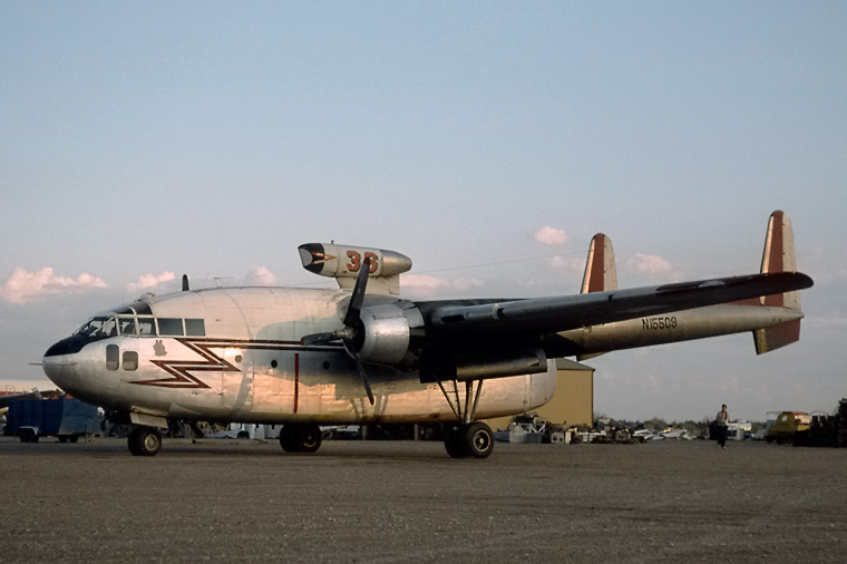 N15509 - Unknown Fairchild C-119 Flying Boxcar at Chandler ...