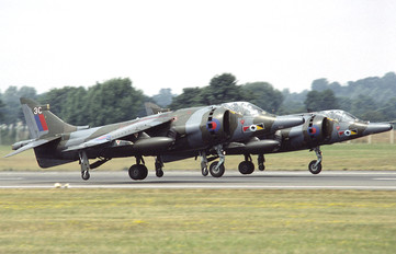 XZ129 - Royal Air Force British Aerospace Harrier GR.3