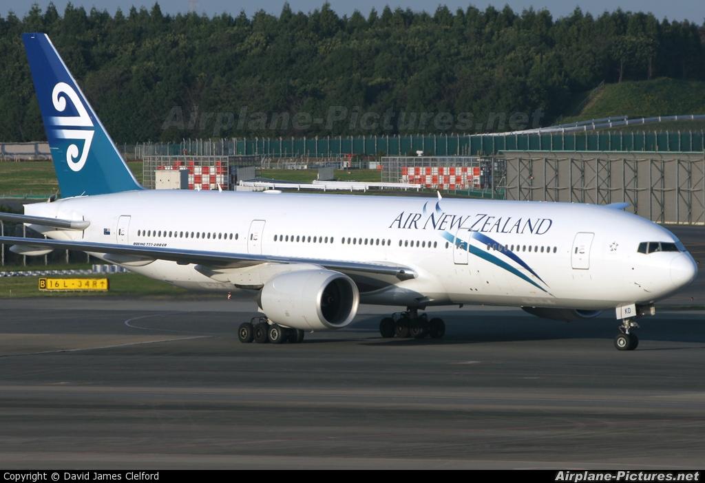 Air New Zealand ZK-OKD aircraft at Tokyo - Narita Intl