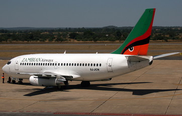 9J-JCN - Zambian Airways Boeing 737-200