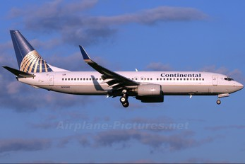 N14240 - Continental Airlines Boeing 737-800