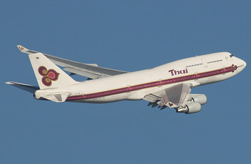 HS-TGM - Thai Airways Boeing 747-400