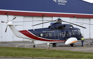 G-ATFM - British International Sikorsky S-61N