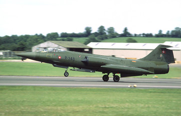 R-348 - Denmark - Air Force Lockheed F-104G Starfighter