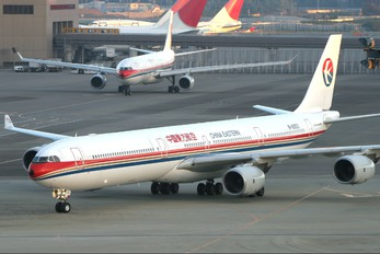 B-6053 - China Eastern Airlines Airbus A340-600