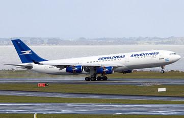 LV-ZRA - Aerolineas Argentinas Airbus A340-200