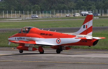 U2484 - India - Air Force Hindustan HJT-16 Kiran II