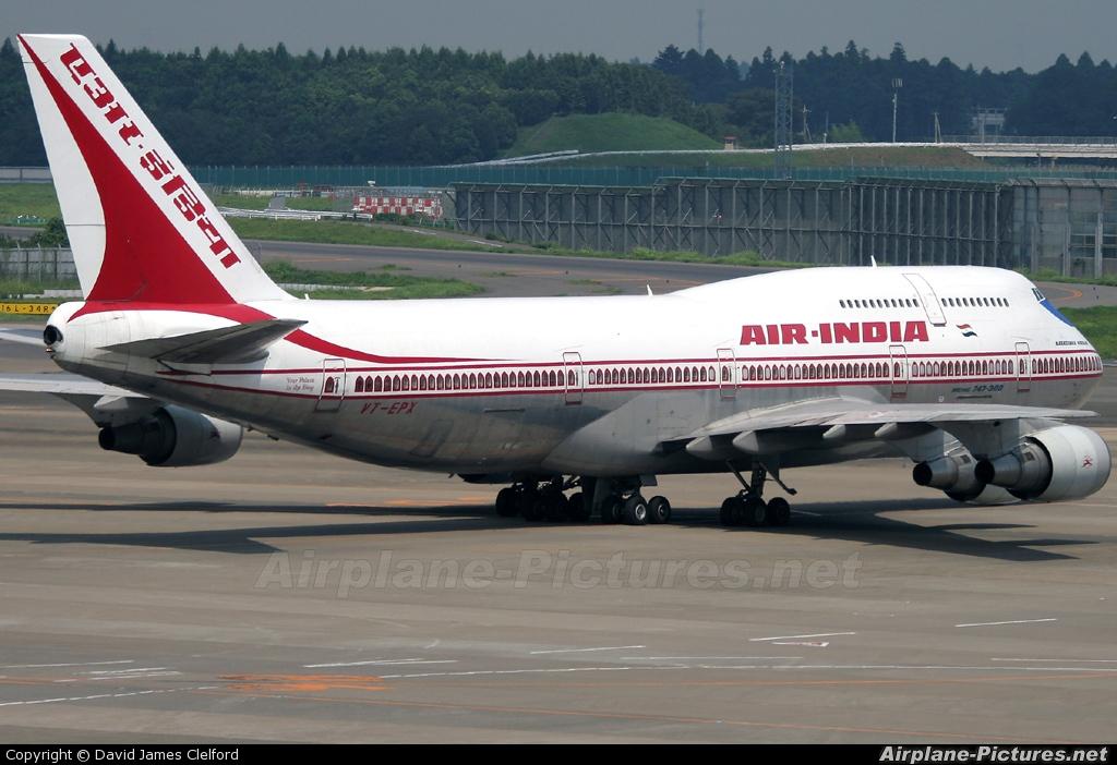 Air India VT-EPX aircraft at Tokyo - Narita Intl