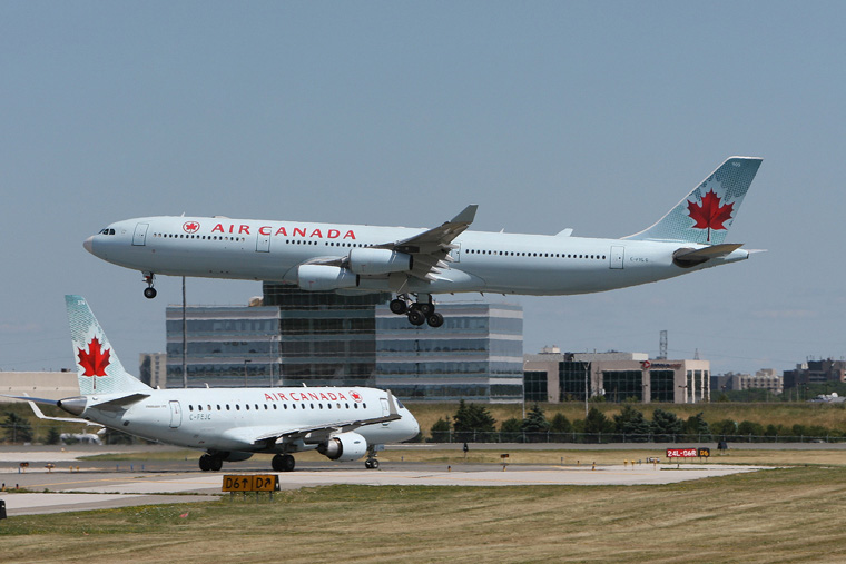 Air Canada C-FYLG aircraft at Toronto - Pearson Intl, ON