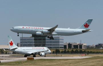 C-FYLG - Air Canada Airbus A340-300
