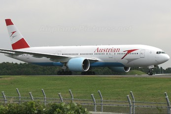 OE-LPA - Austrian Airlines/Arrows/Tyrolean Boeing 777-200ER