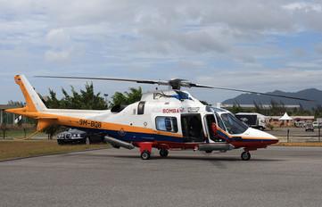 9M-BOB - Malaysia - Fire Dept (Bomba) Agusta / Agusta-Bell A 109