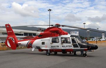 M70-02 - Malaysia - Maritime (MMEA) Aerospatiale AS365 Dauphin II