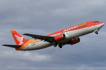 PK-KMA - AdamAir Boeing 737-400