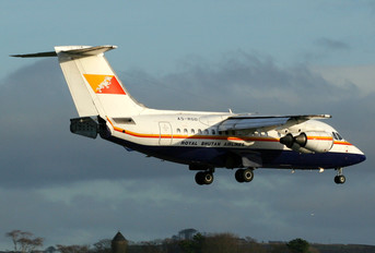 A5-RGD - Royal Bhutan Airlines British Aerospace BAe 146-100/Avro RJ70