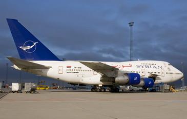 YK-AHB - Syrian Air Boeing 747SP