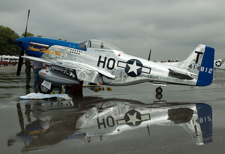 N51dt Private North American P 51d Mustang At Columbus