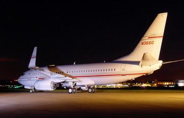 N366G - Private Boeing 737-700 BBJ