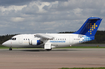 EI-COQ - Transwede Airways British Aerospace BAe 146-100/Avro RJ70