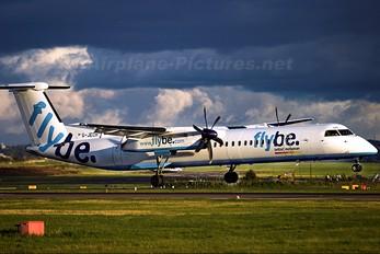 G-JECH - Flybe de Havilland Canada DHC-8-400Q / Bombardier Q400