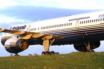 G-CDUO - Britannia Airways Boeing 757-200