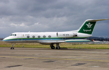HZ-AFK - Saudi Arabian Airlines Gulfstream Aerospace G-II