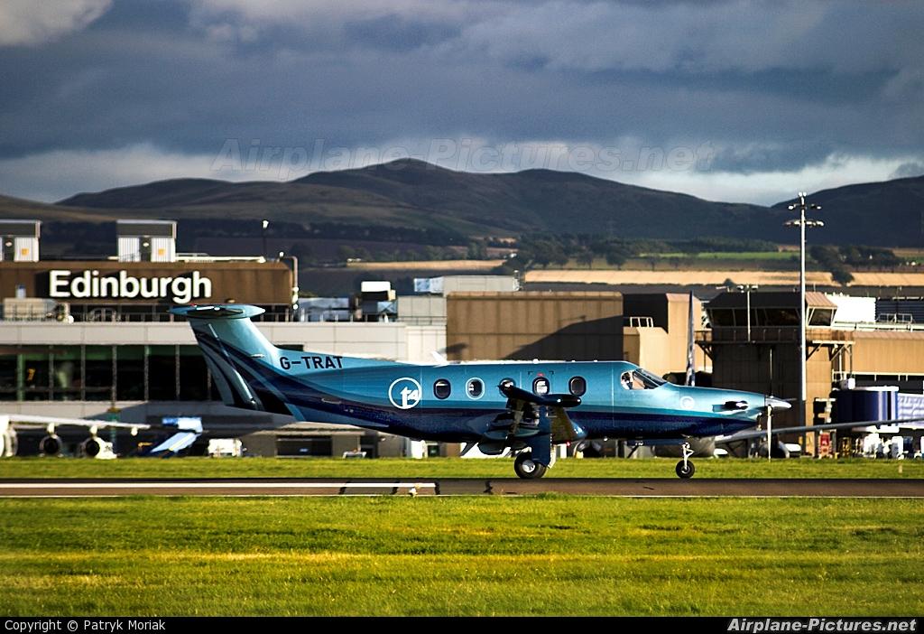 Private G-TRAT aircraft at Edinburgh