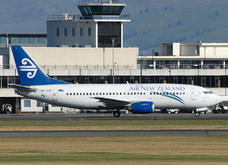 ZK-SJB - Air New Zealand Boeing 737-300