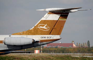 DDR-SCF - Interflug Tupolev Tu-134