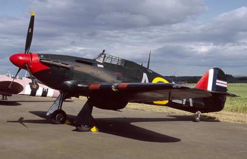 G-HURR - Spitfire Hawker Hurricane I