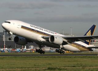 9V-SVD - Singapore Airlines Boeing 777-200ER
