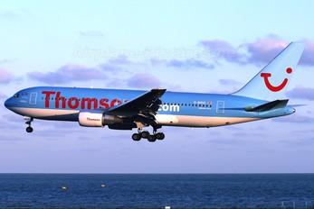 G-BRIG - Thomson/Thomsonfly Boeing 767-200ER