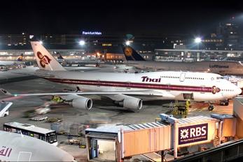 HS-TGL - Thai Airways Boeing 747-400