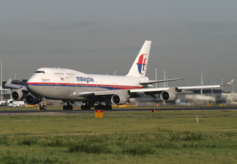 9M-MPQ - Malaysia Airlines Boeing 747-400