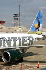 N802FR - Frontier Airlines Airbus A318
