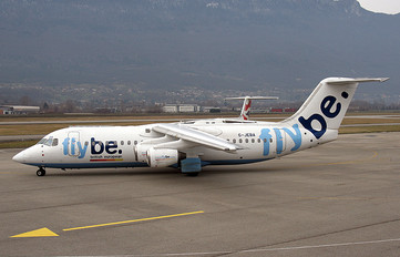 G-JEBA - Flybe British Aerospace BAe 146-300/Avro RJ100