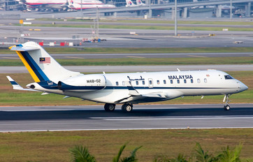 M48-02 - Malaysia - Air Force Bombardier BD-700 Global Express