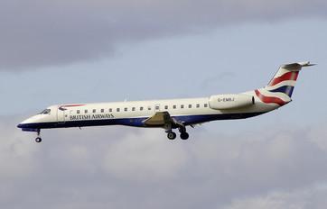 G-EMBJ - British Airways Embraer ERJ-145