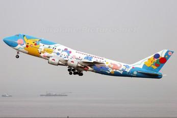 JA8964 - ANA - All Nippon Airways Boeing 747-400