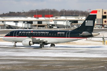 N814MD - US Airways Express Embraer ERJ-170 (170-100)