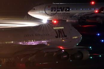 JA8131 - JAL - Japan Airlines Boeing 747-200