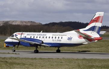 G-LGNA - British Airways - Loganair SAAB 340