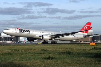 N803NW - Northwest Airlines Airbus A330-300