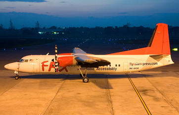 9M-MGB - Fly Asian Xpress - FAX Fokker 50
