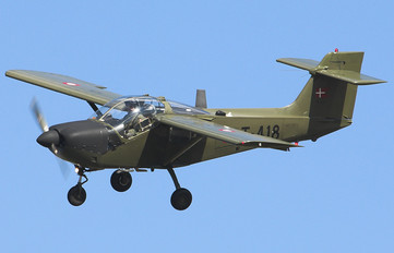 T-418 - Denmark - Air Force SAAB MFI T-17 Supporter